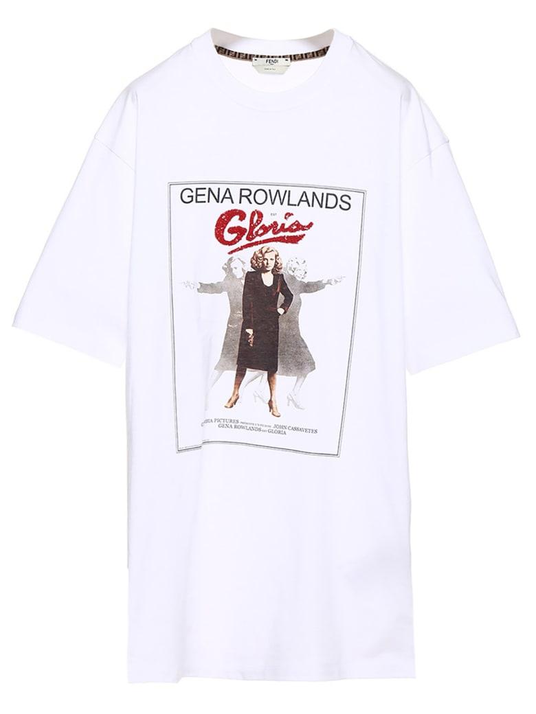 Fendi 'gena Rowlands' T-shirt - White