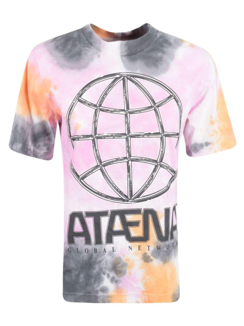 McQ Alexander McQueen Global Network T-shirt - Black/Orange