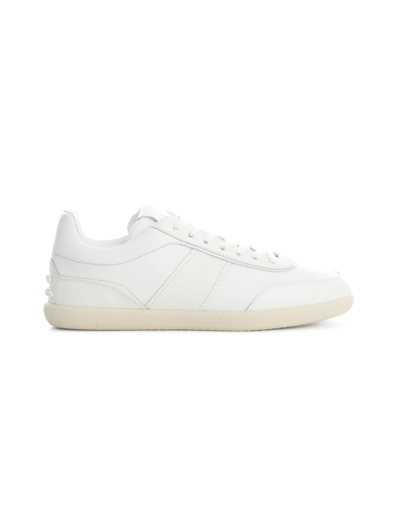 Tod's Leather Sneakers - White