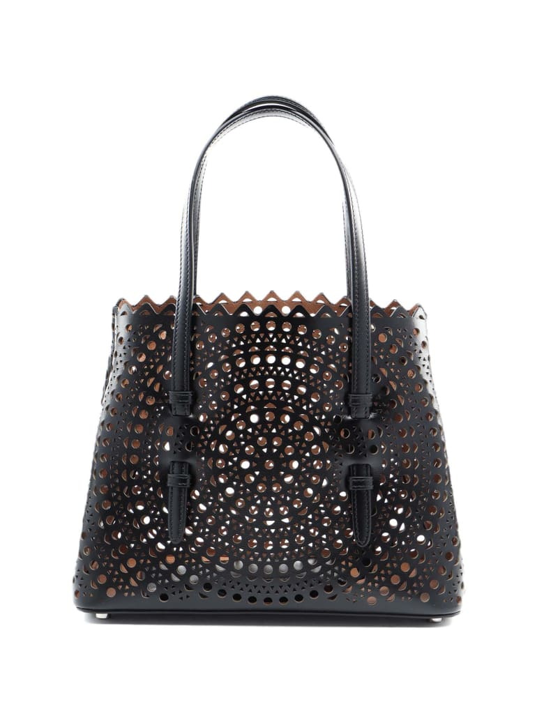 Alaia Mina Sm Bag - Noir