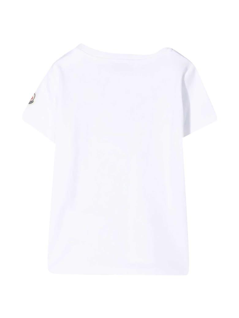 Moncler White T-shirt - Bianco