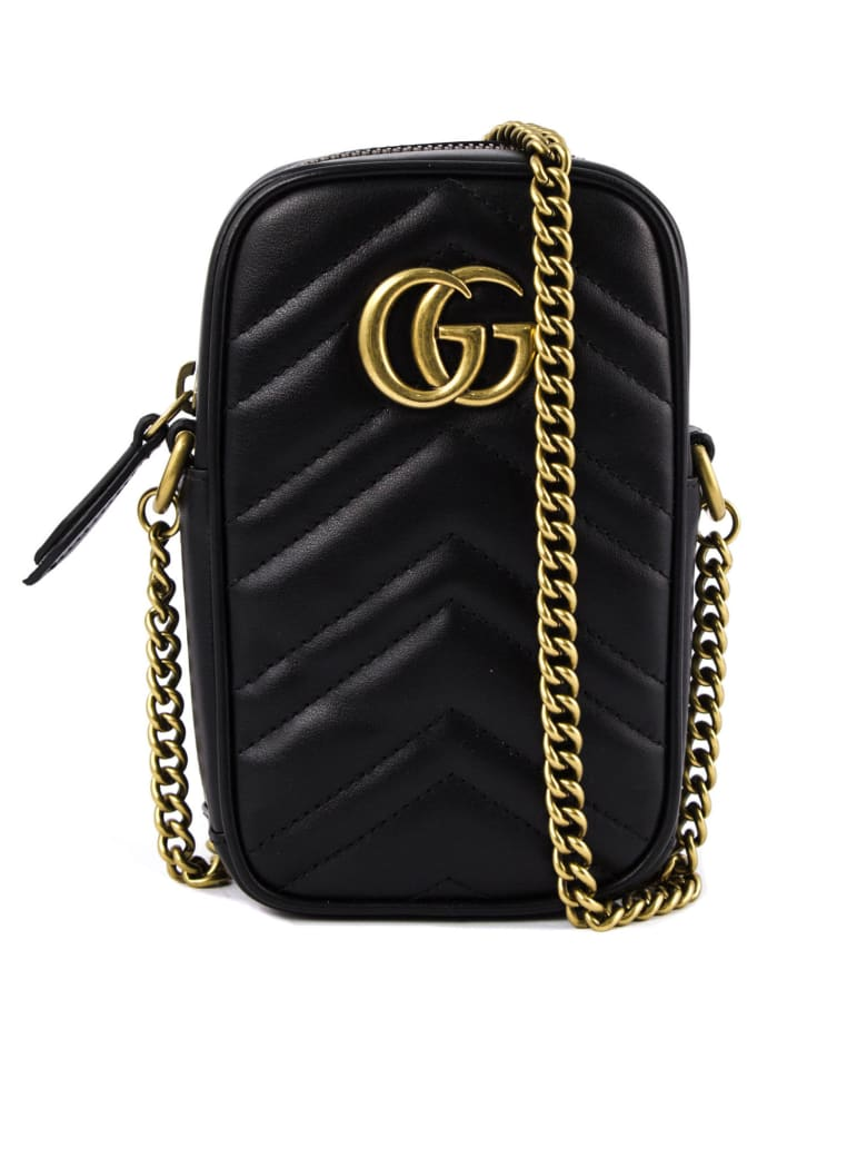 Gucci Gg Marmont Mini Bag - Nero