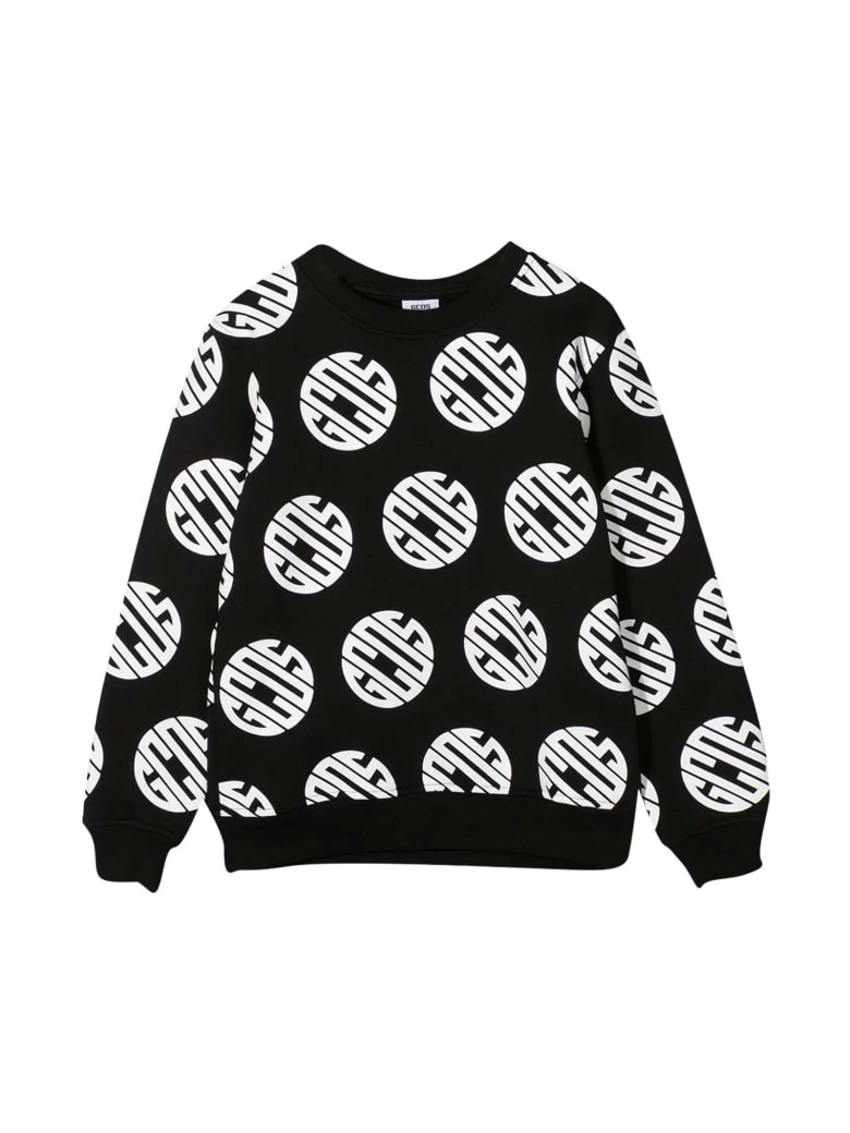 GCDS Mini Black Sweatshirt - Nero