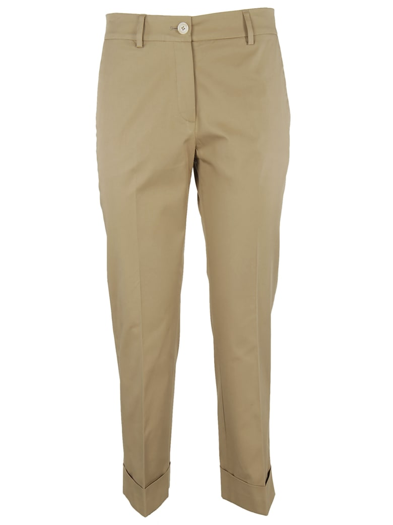 QL2 Cropped Trousers - Ginger