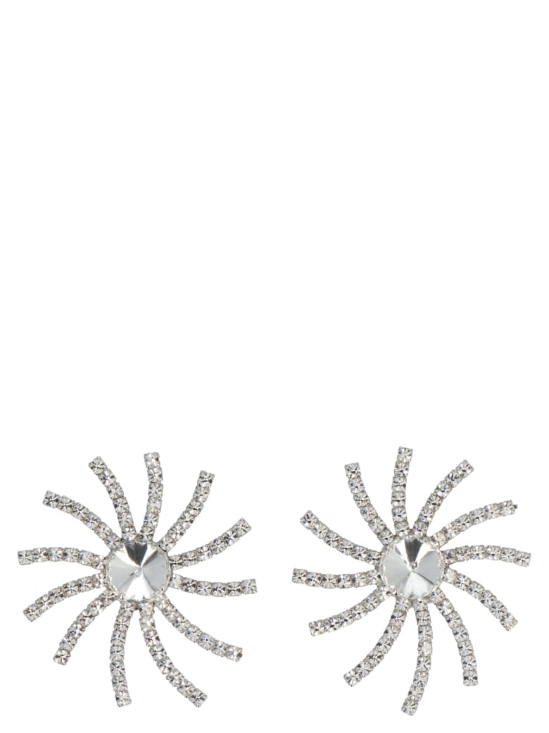 Alessandra Rich Earrings - Silver