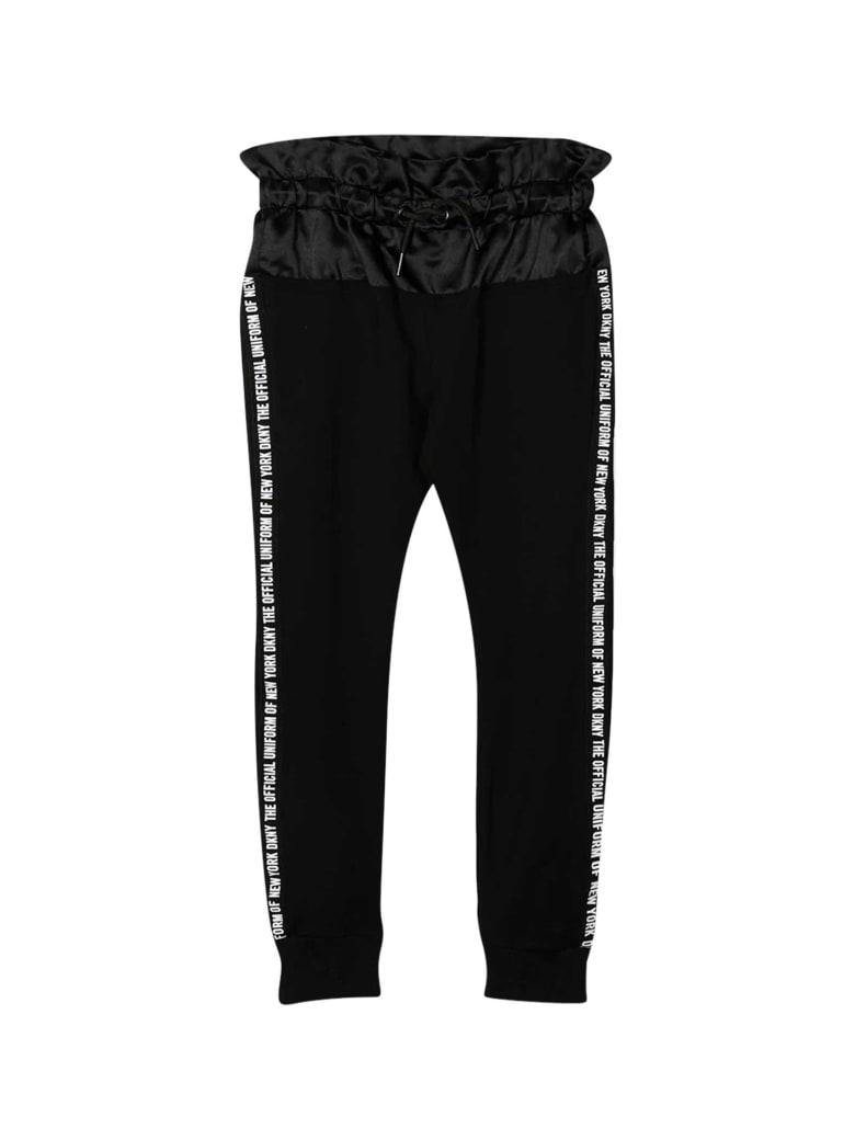 DKNY Black Sports Trousers - Nero