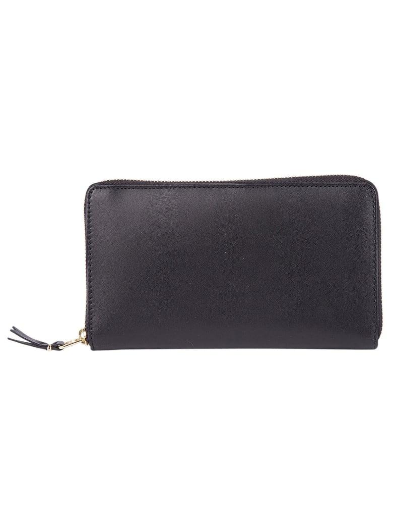 Comme des Garçons Wallet Classic Zip Around Wallet - Black