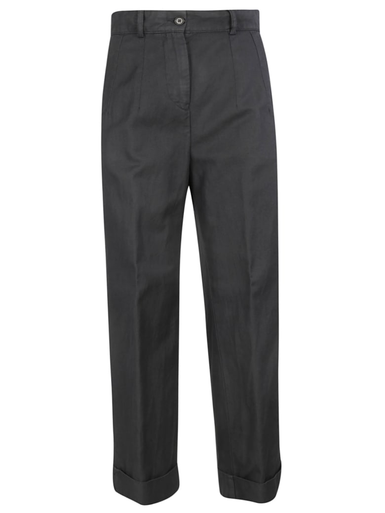 Aspesi High-waisted Trousers - Grey
