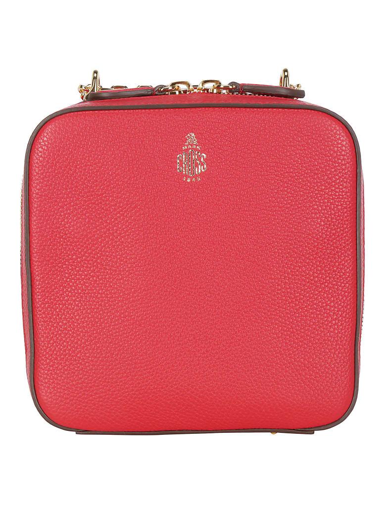Mark Cross Marc Cross Rose Shoulder Bag - Mc red