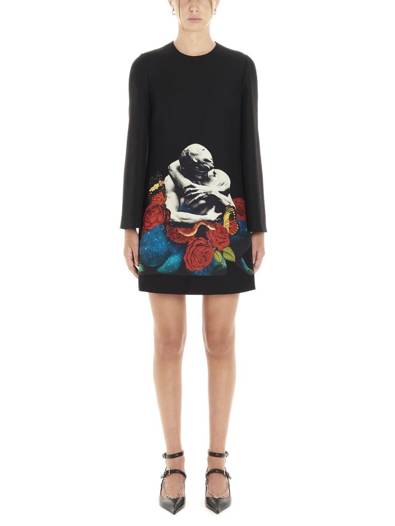 Valentino 'lovers' Dress - Black