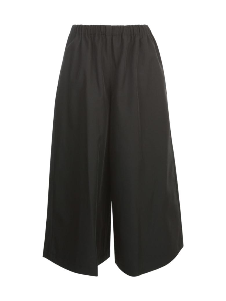Comme des Garçons Comme des Garçons Polyester Gabardine Pants Elastic Waist - Black