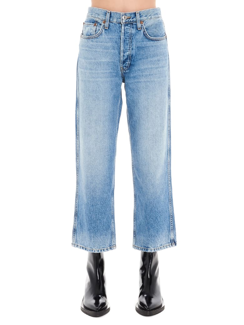 RE/DONE 'the 90s' Jeans - Light blue