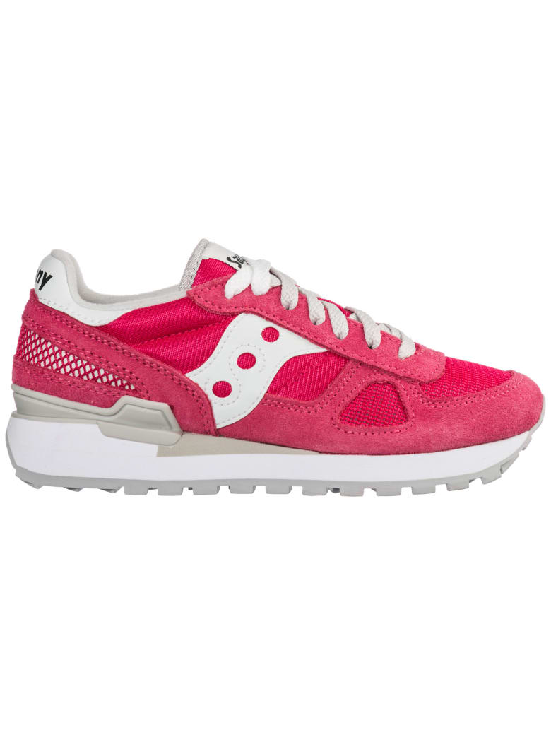 Saucony  Shoes Suede Trainers Sneakers Shadow O - Fucsia