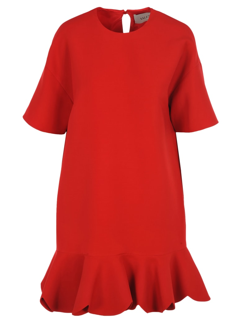 Valentino New Shape Dress - RED