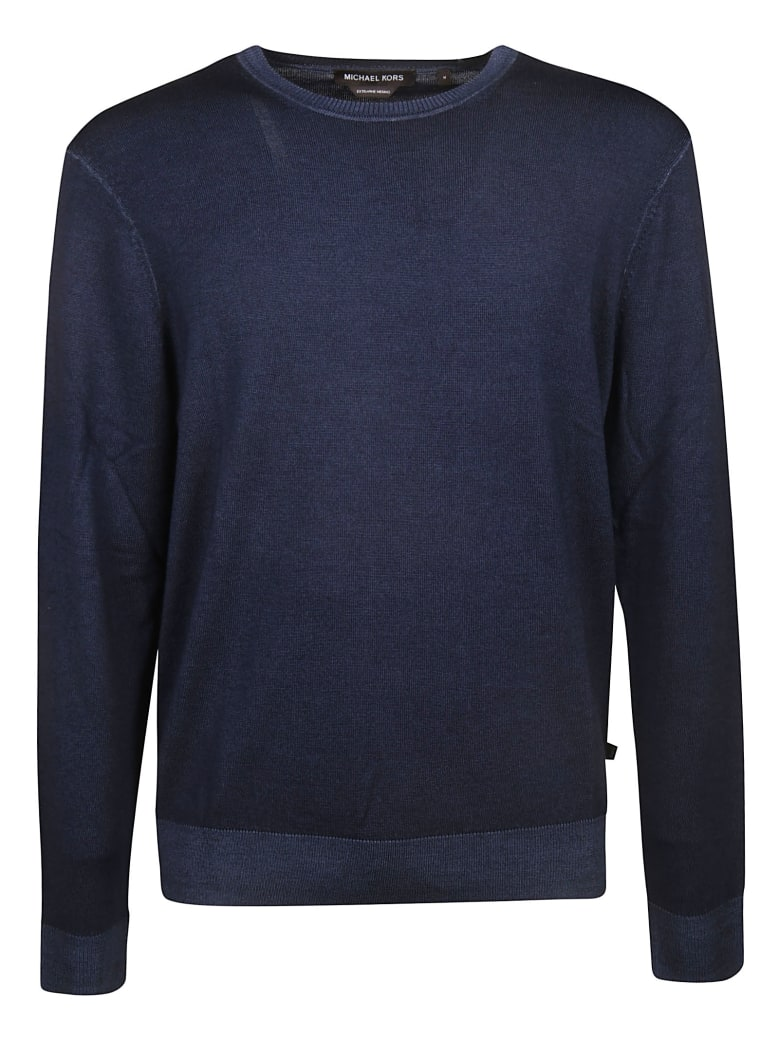 Michael Kors Round Neck Sweater - blue