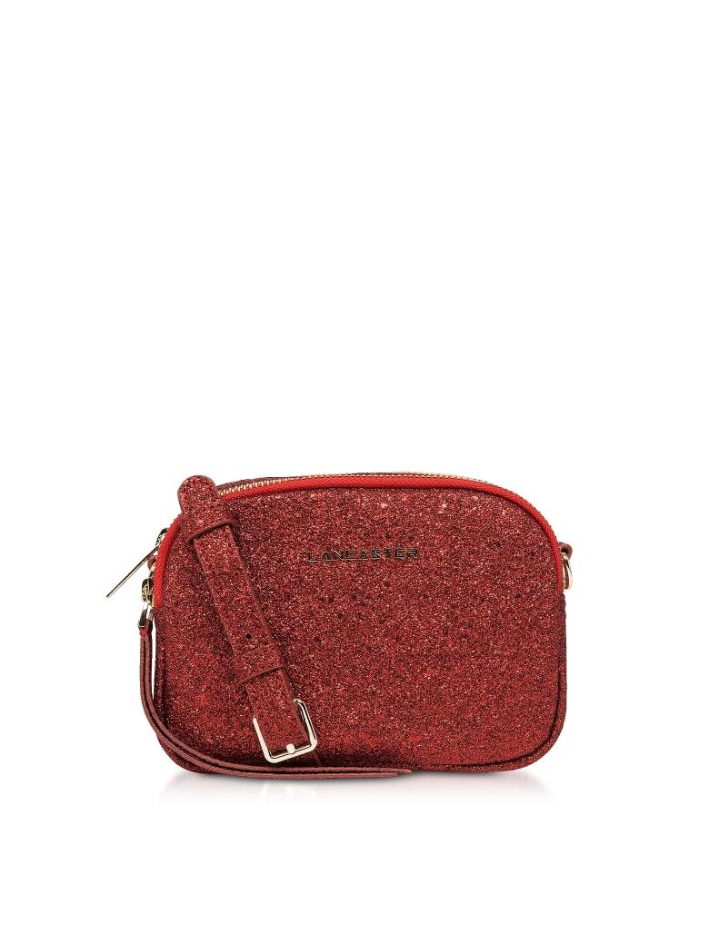 Lancaster Paris Actual Shiny Mini Crossbody Bag - Red