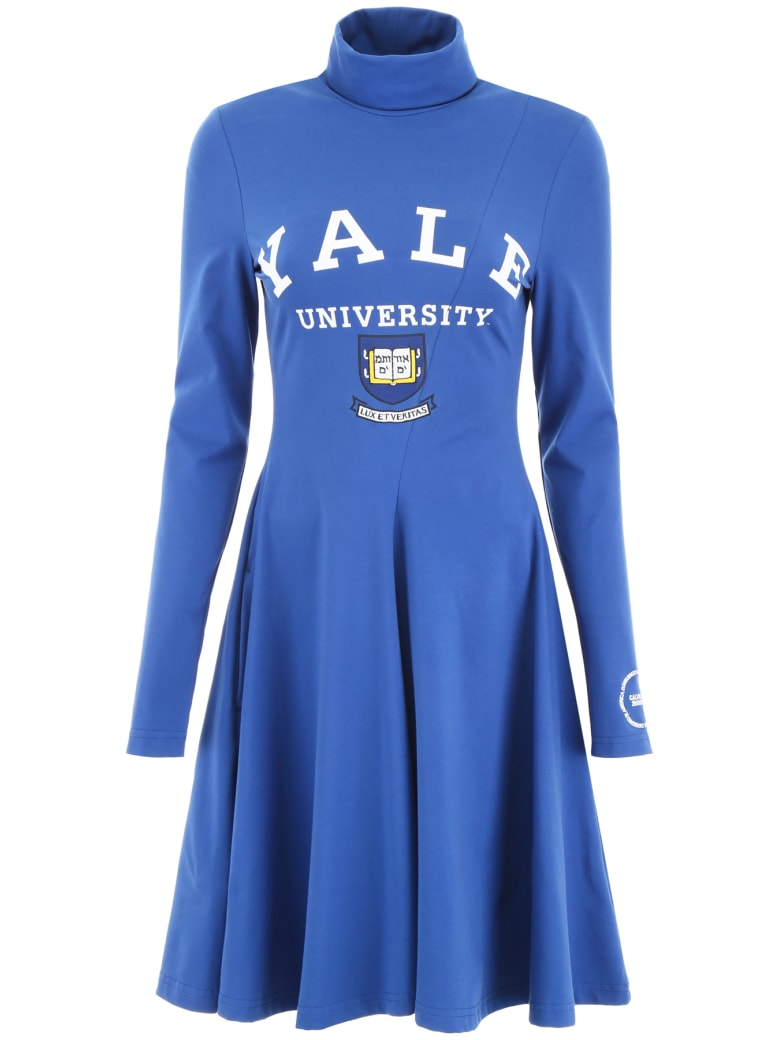 Calvin Klein Yale University Dress - YALE BLUE (Blue)