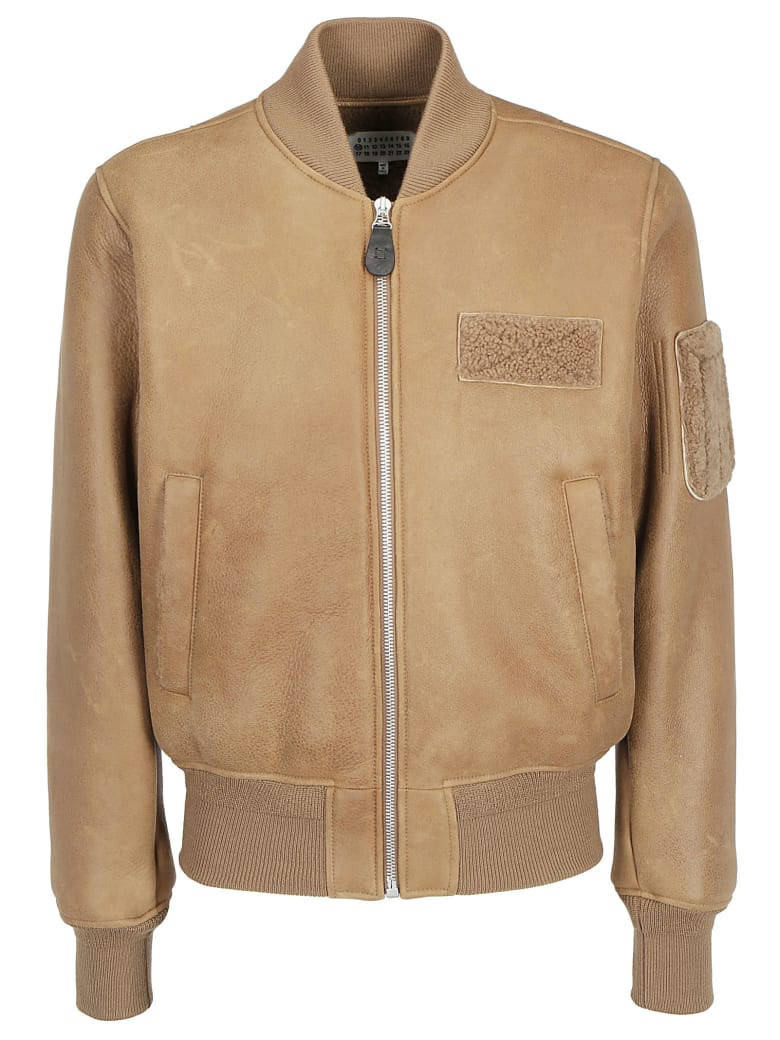 Maison Margiela Leather Jacket - Caban