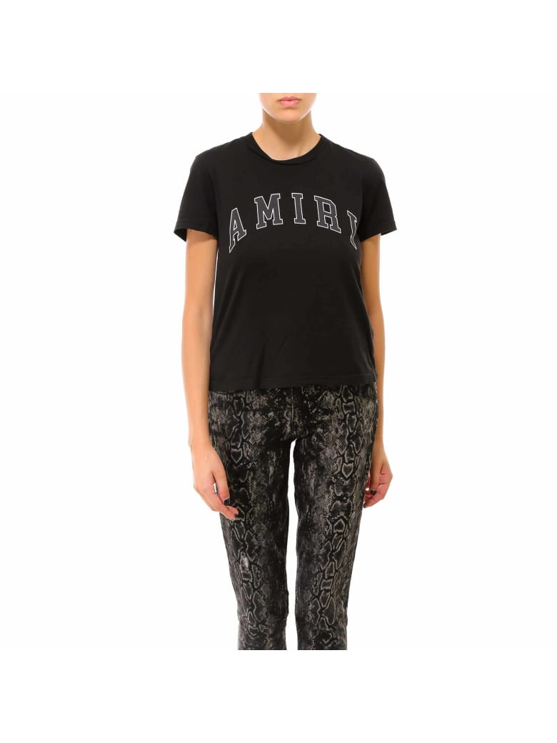 AMIRI College Amiri Tee T-shirt - Black