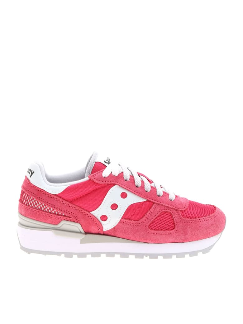 Saucony Shadow Original Sneakers - Rose/White