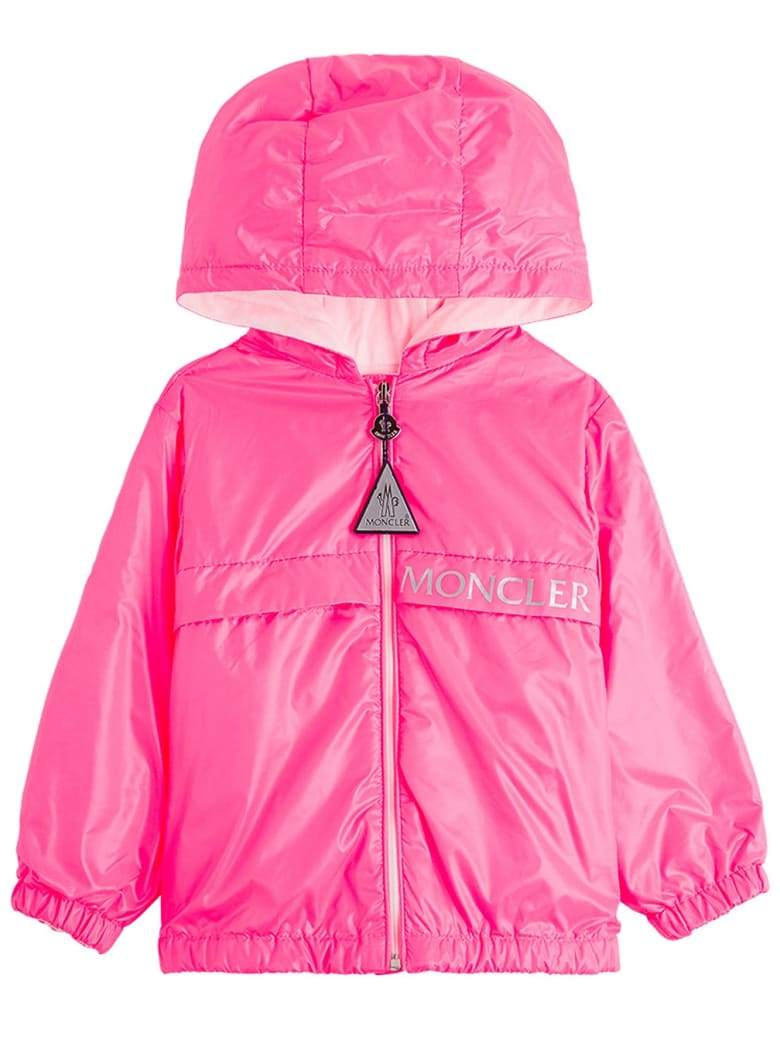 Moncler Admeda Jacket In Pink Nylon