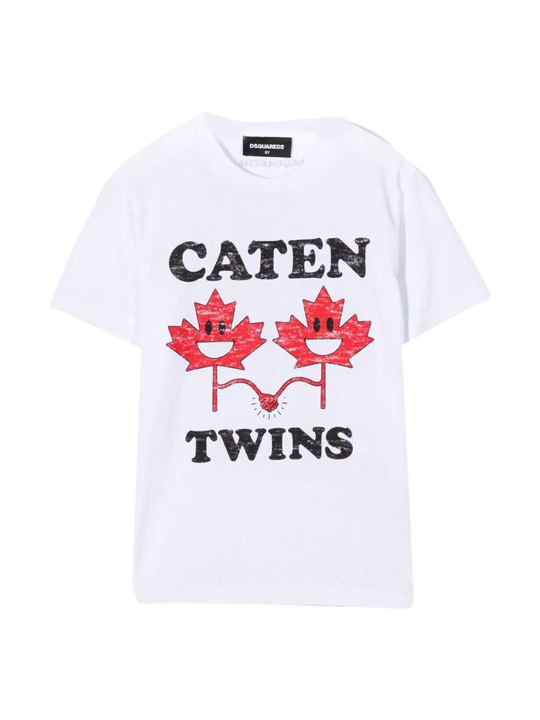Dsquared2 White Teen T-shirt - Bianco