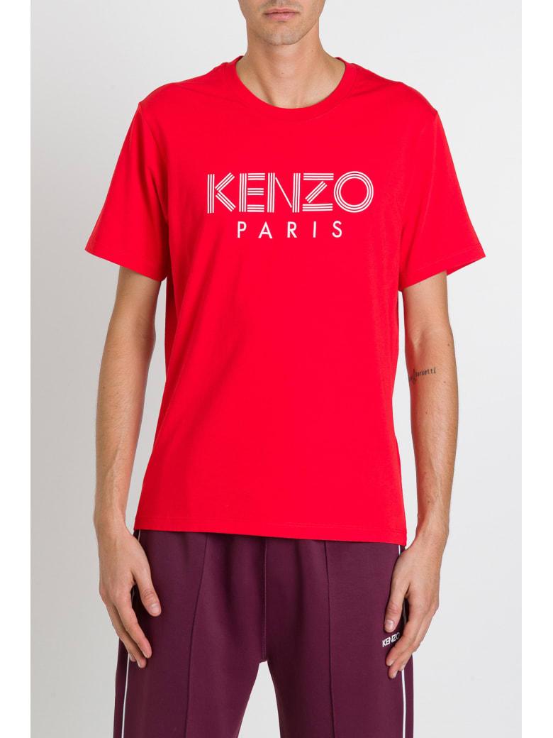 Kenzo Logo Tee - Rosso