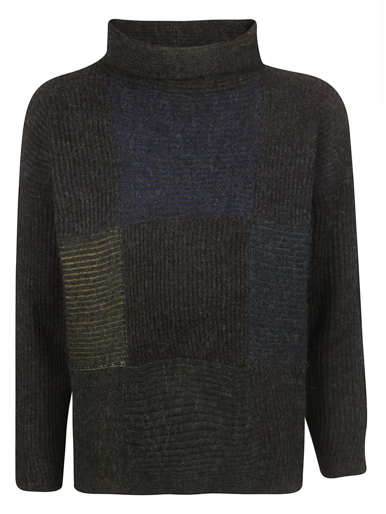 De Clercq Knitted Sweater - Multicolor/Charcoal