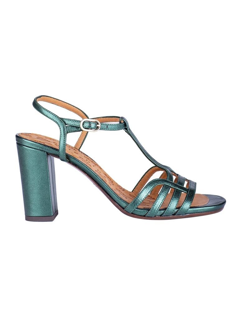 Chie Mihara High-block Heel Sandals - Green