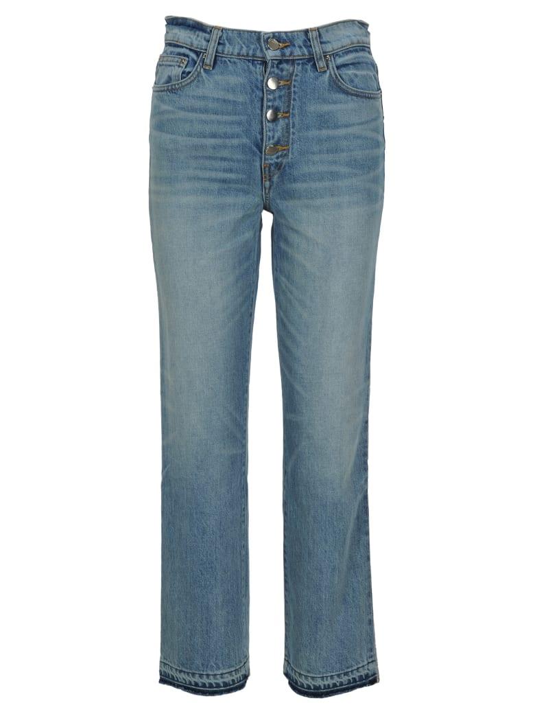 AMIRI Amiri Cropped Straight Jeans - VINTAGE INDIGO/SILVER