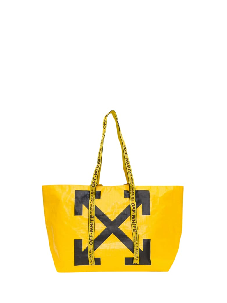 Off-White Arrows Tote Bag - Giallo
