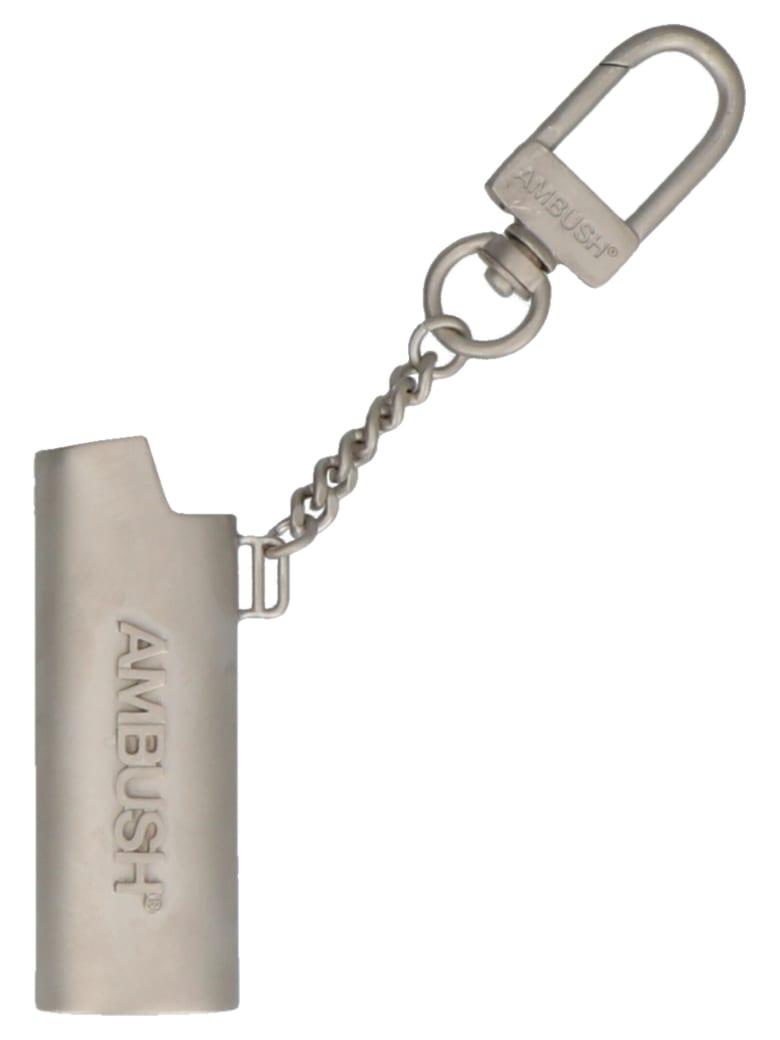 AMBUSH 'lighter' Keyring - Silver