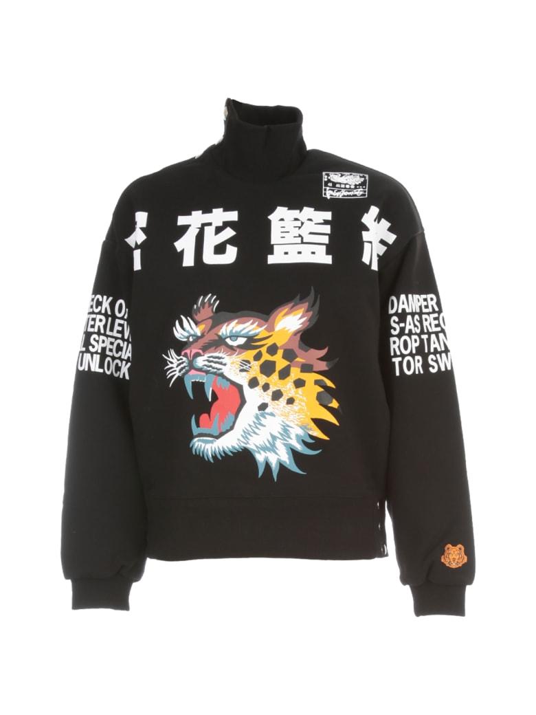Kenzo High Neck Sweatshirt - BLACK