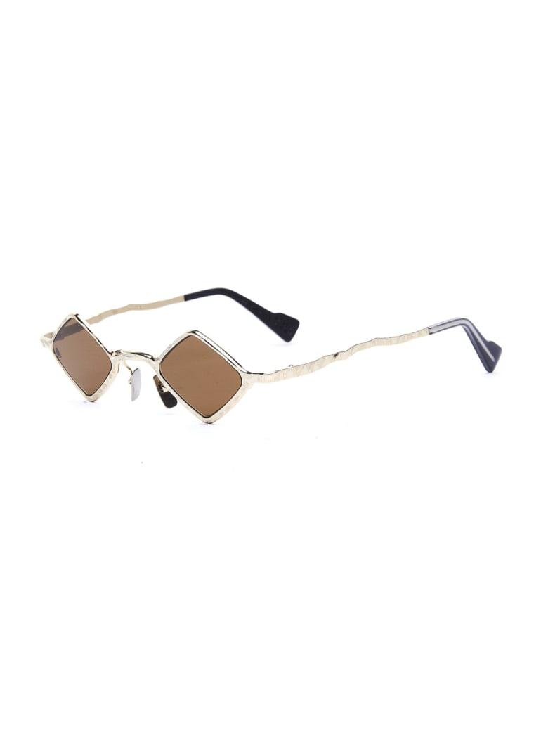 Kuboraum Z14 Sunglasses - Gd Ivory