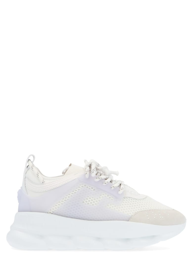 Versace 'chain Reaction' Shoes - White