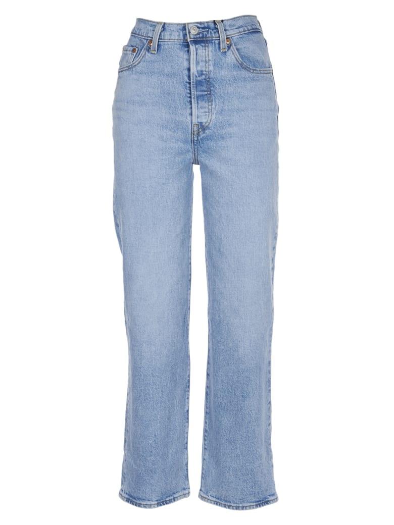 Levi's High Waist Light Jeans - Blu chiaro