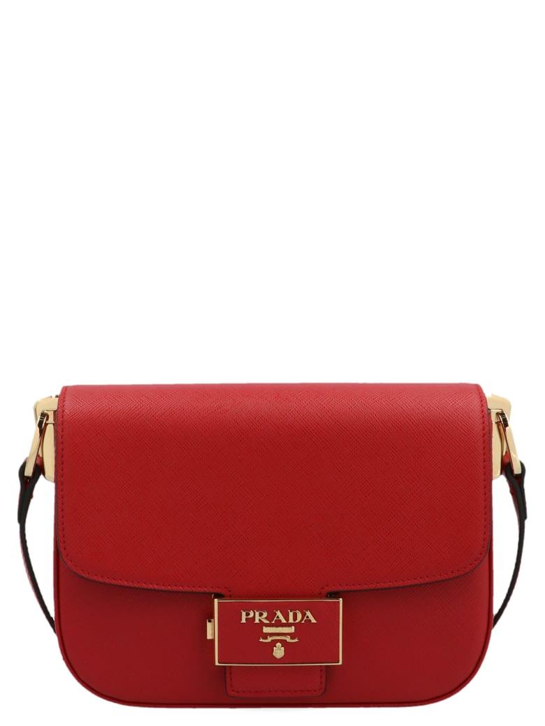 Prada 'pattina' Bag - Red