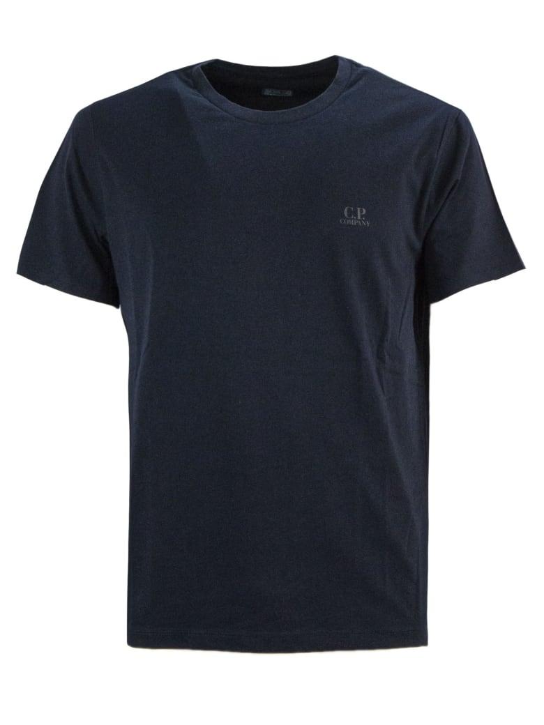 C.P. Company Blue Cotton T-shirt - Blu