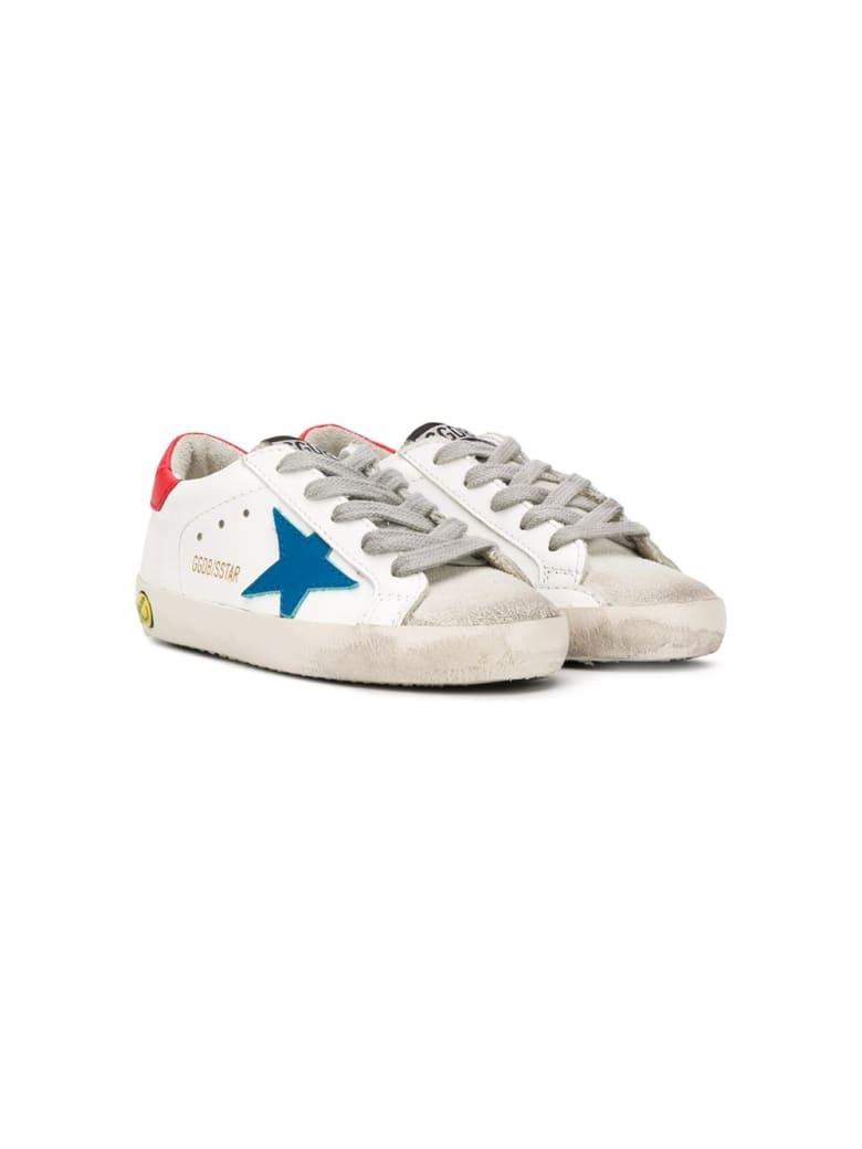 Golden Goose Golden Goose Sneakers - Bianca-blu
