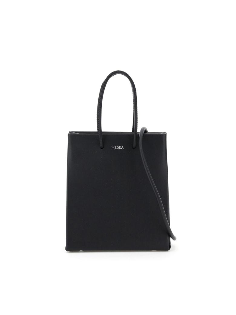 Medea Prima Short Crossbody Bag - BLACK (Black)