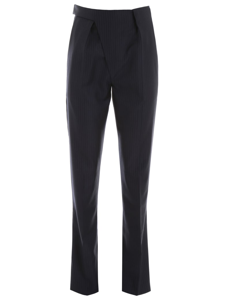 Coperni Pinstriped Trousers - NAVY (Blue)