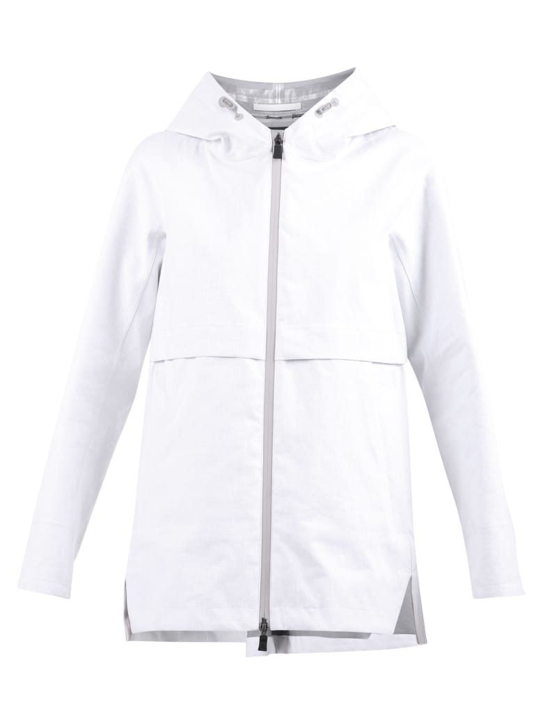 Herno Zipped Jacket - White