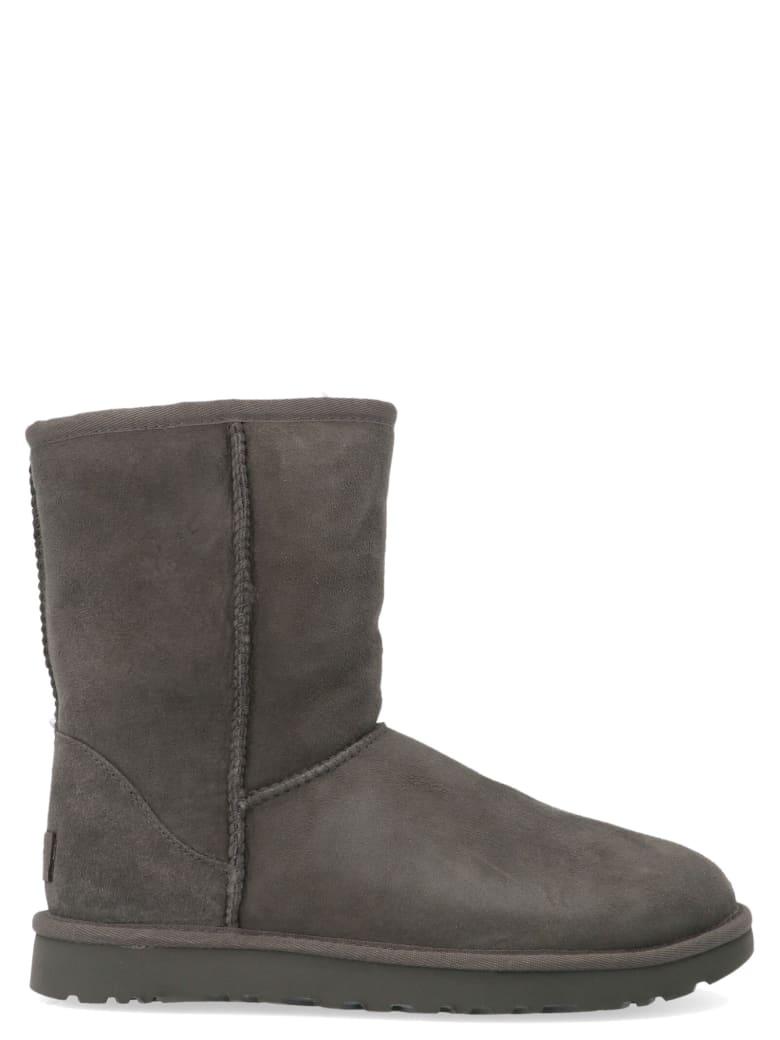 UGG 'classic Short' Shoes - Grey