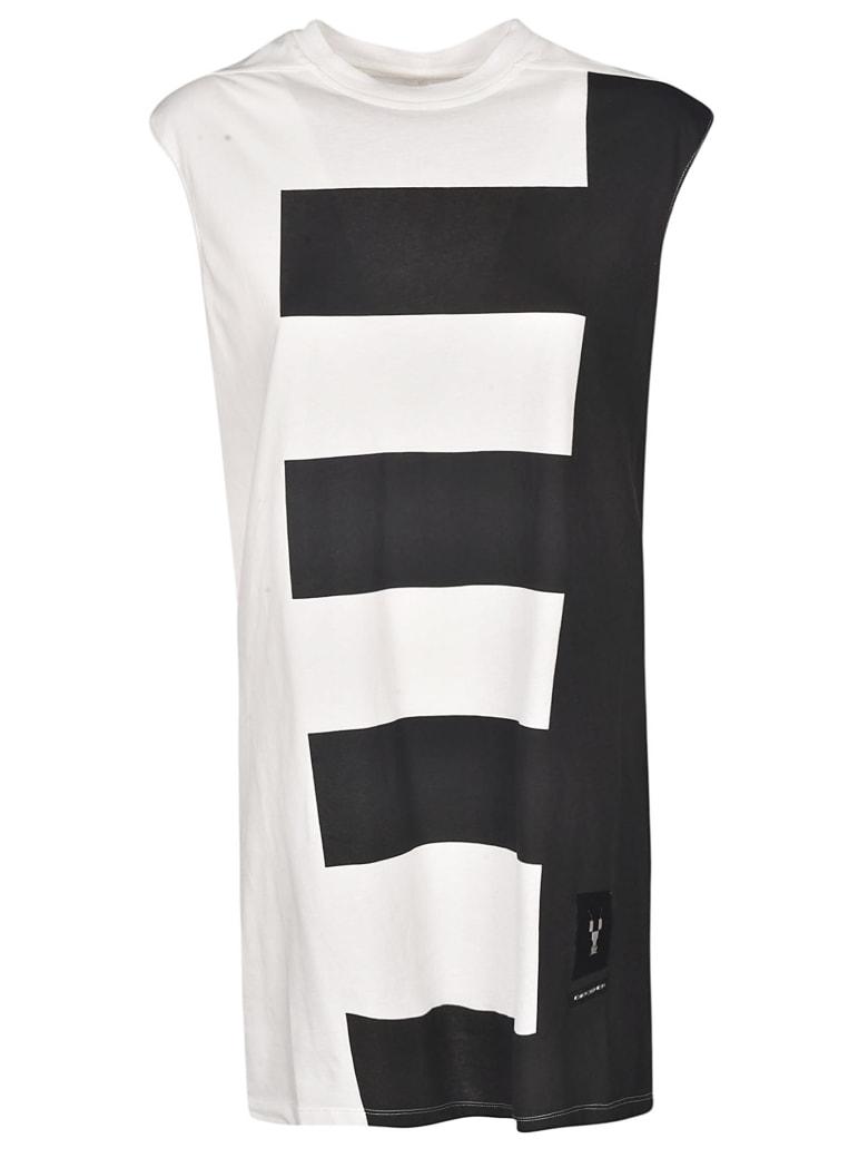 DRKSHDW Striped Tank Top - White/Black
