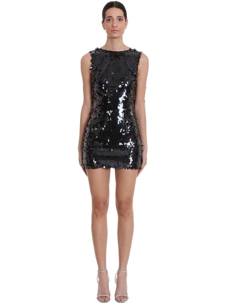 Nervi Marina Dress In Black Polyester - black