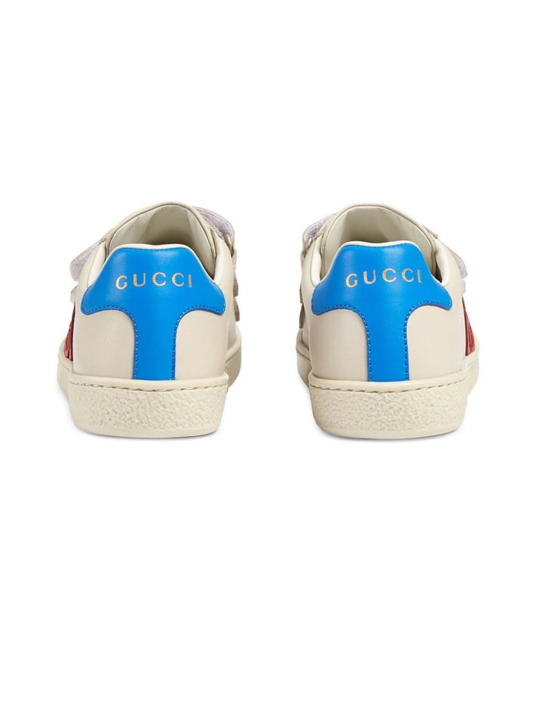Gucci Toddler Ace Sneaker - Mastice