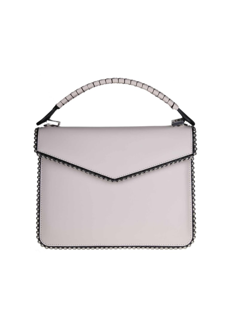 Les Petits Joueurs Pixie Hand Bag In Ivory Color Calf Leather - WHITE