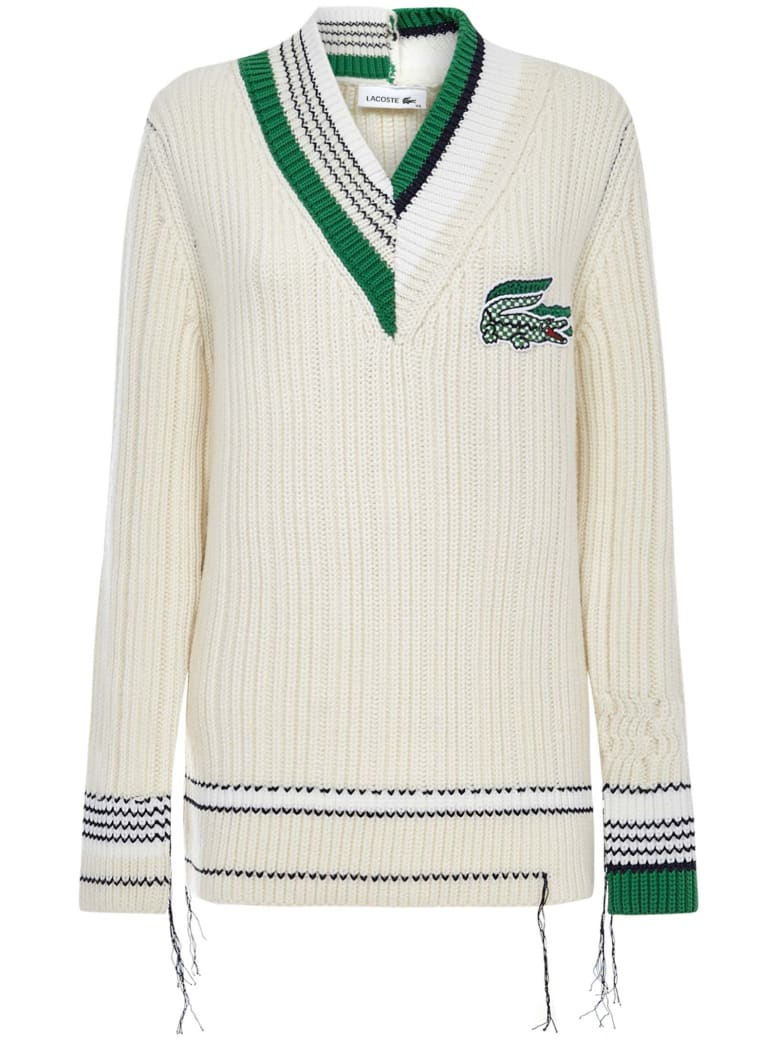 Lacoste Sweater - Ivory