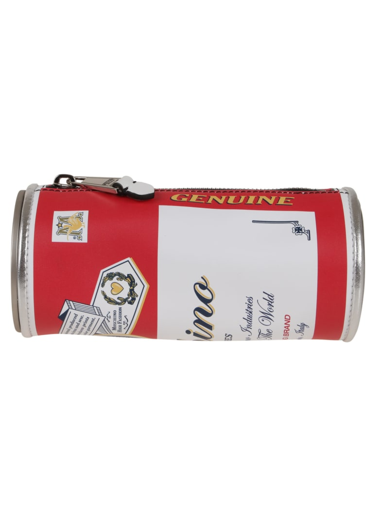 Moschino Pochette With Exclusive Graphic Print.