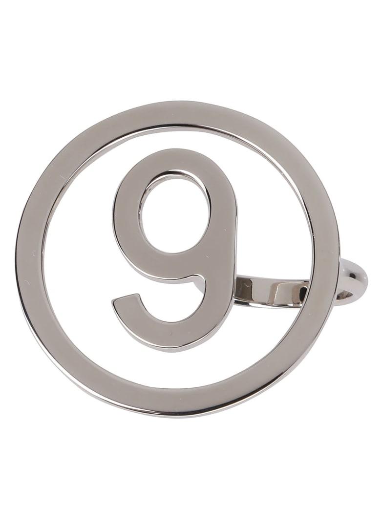 MM6 Maison Margiela Silver Brass Ring - Silver